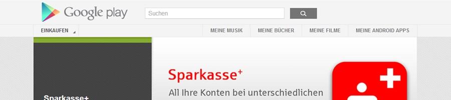 App-Tipp Sparkasse+