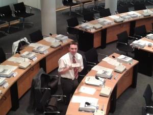 Erste Ratssitzung