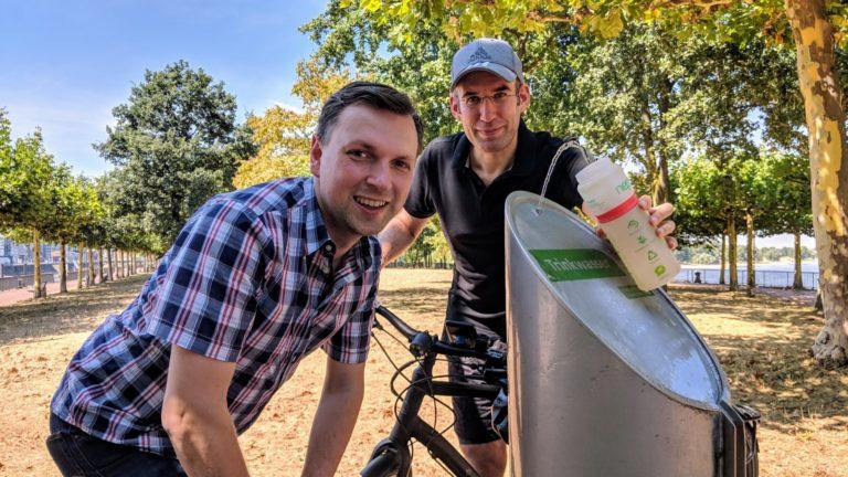 Trinkwasser-Spender für die Innenstadt
