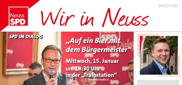Wahlkreiszeitung Winter 2019/20 ist verteilt