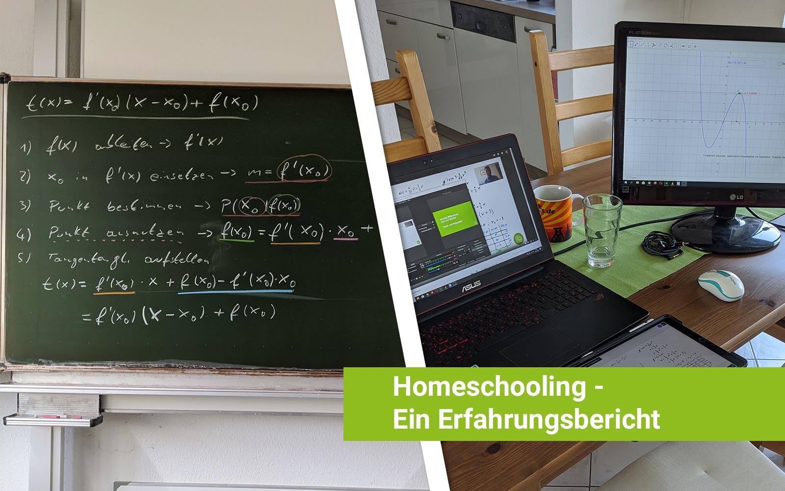 Homeschooling – Von der Tafel ins Internet