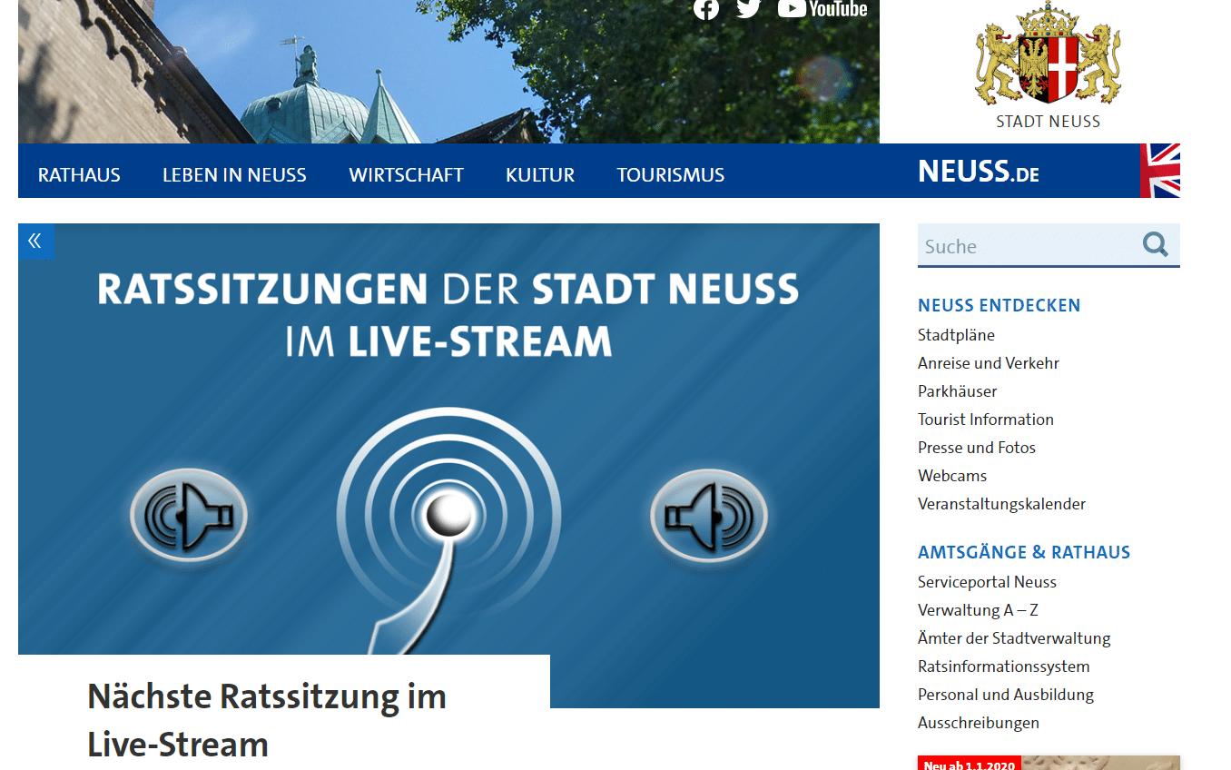 Audio-Livestream der Ratssitzungen wird gut angenommen