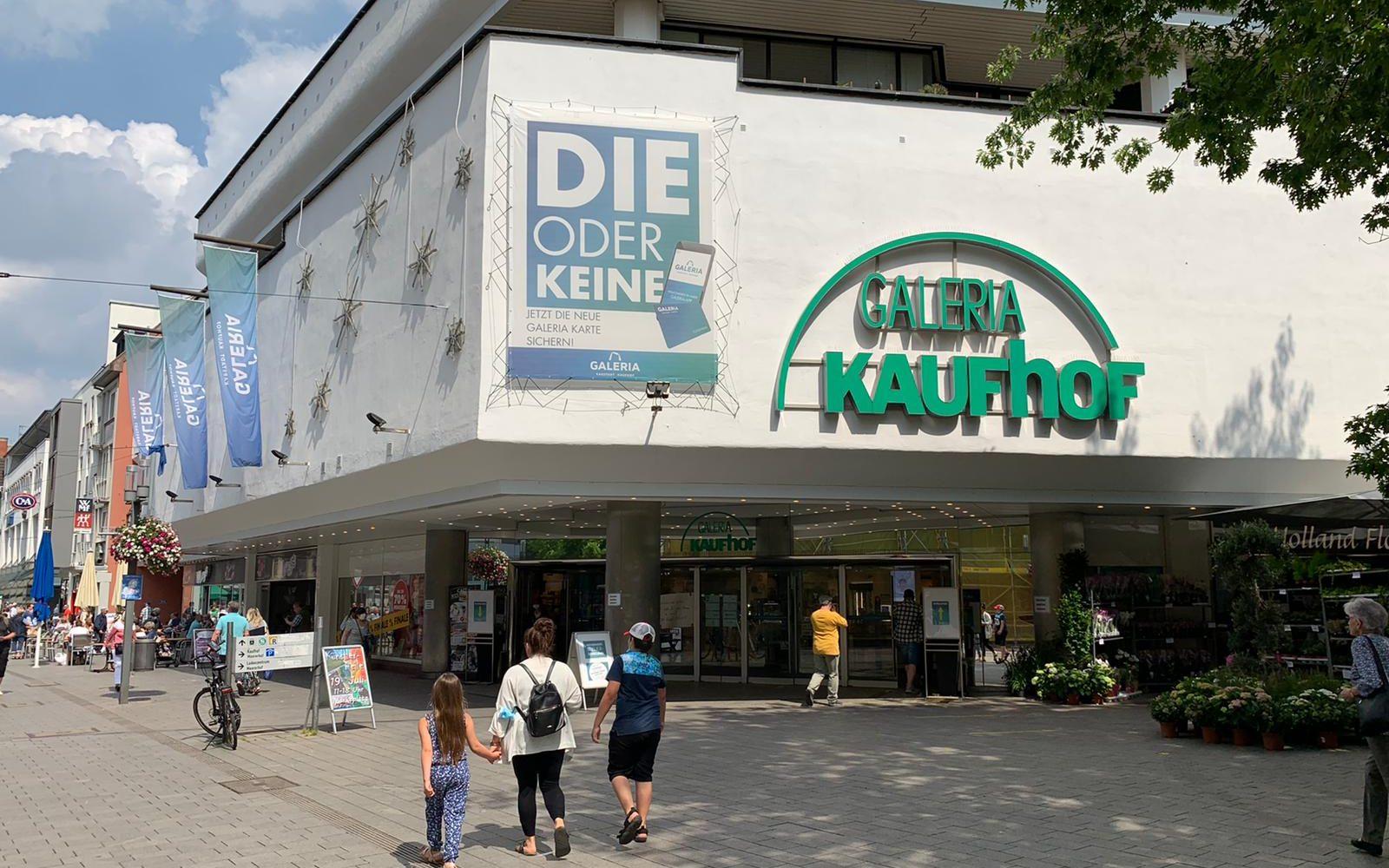 Gibt es eine Zukunft  mit dem Kaufhof? – Entwicklungen in der Innenstadt